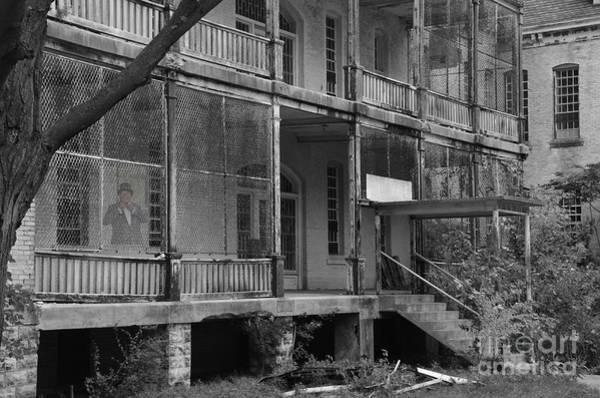 Photograph - Ghost At The Asylum by Randy J Heath