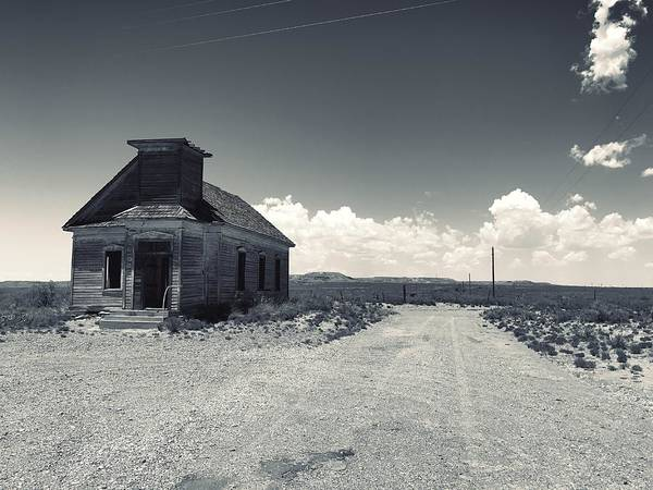 Photograph - Ghost Church by Brad Hodges