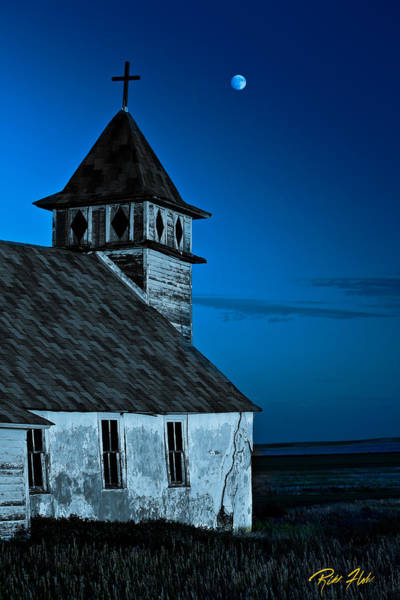 Photograph - Ghost Church by Rikk Flohr