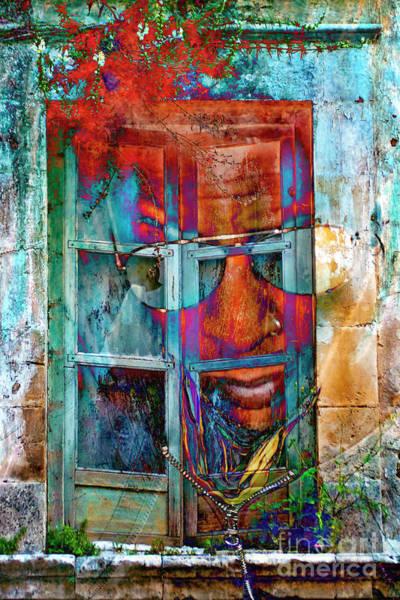Digital Art - Ghost Goes Through Wall by Silva Wischeropp