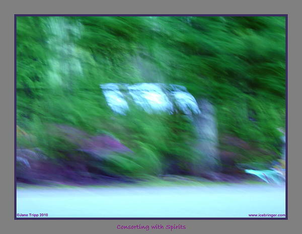 Wall Art - Photograph - Ghost Hanging Out Washing by Jane Tripp