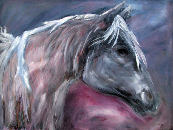 Painting - Spirit Horse by Katt Yanda