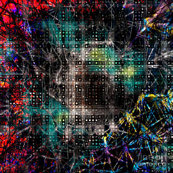 Digital Art - The Ghosts In The Machine 1 by Walter Neal