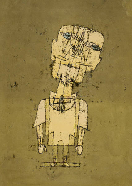 Drawing - Ghost Of A Genius by Paul Klee