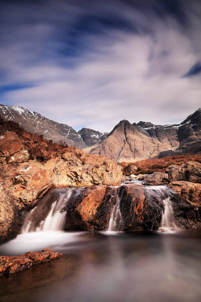 Photograph - Ghost Of The Fairy Pools by Grant Glendinning