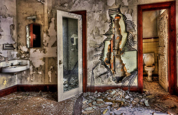 Wall Art - Photograph - Ghost Of Time by Evelina Kremsdorf