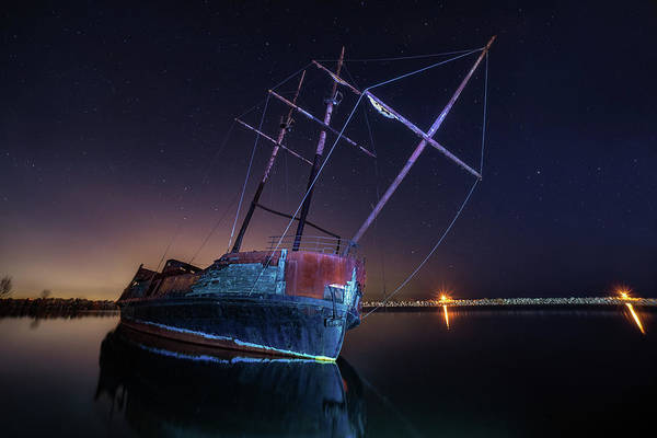 Photograph - Ghost Ship by Tracy Munson