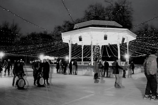 Photograph - Ghost Skaters by Perggals - Stacey Turner