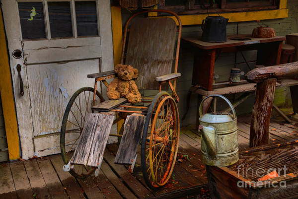 Photograph - Ghost Town Grandpa Teddy by Adam Jewell