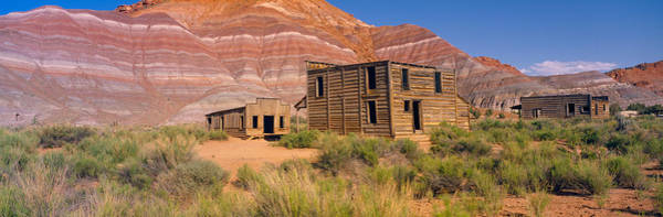 Paria Photograph - Ghost Town, Movie Set, Paria, Utah by Panoramic Images