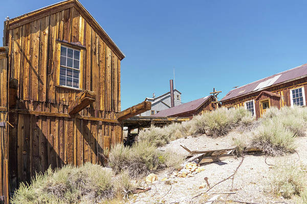 Photograph - Ghost Town Of Bodie California Dsc4441 by Wingsdomain Art and Photography