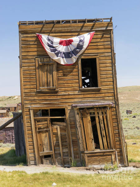 Photograph - Ghost Town Of Bodie California Swasey Hotel Dsc4371 by Wingsdomain Art and Photography