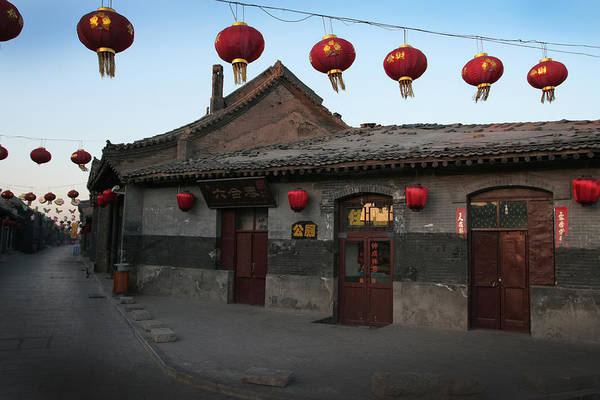 Photograph - Ghost Town On The Eve The Chinese New Year by Jed Holtzman