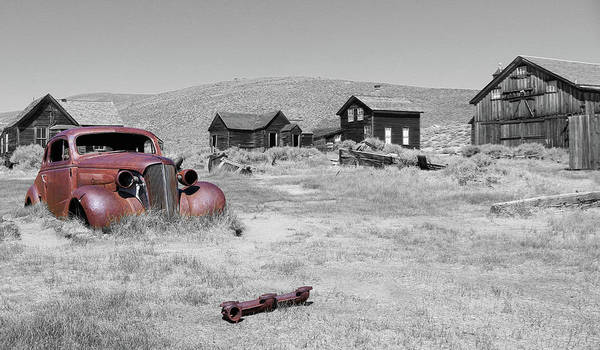 Wall Art - Photograph - Ghost Town Relics by Steve McKinzie