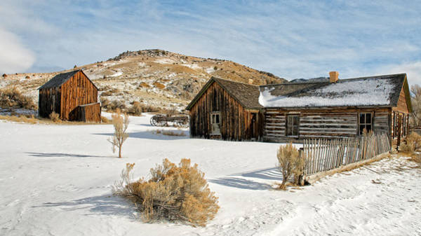 Photograph - Ghost Town Winter by Scott Read