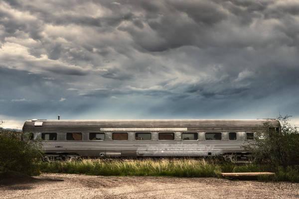 Photograph - Ghost Train Car by Robert FERD Frank