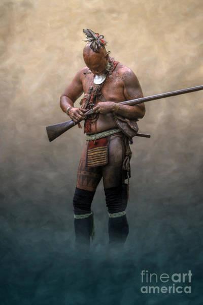 Musket Digital Art - Ghost Warrior  by Randy Steele