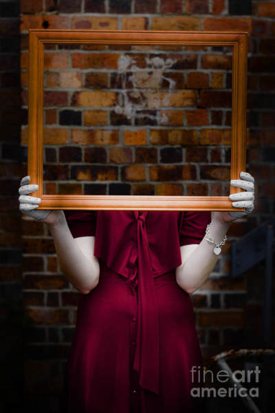 Disappear Wall Art - Photograph - Ghost With Picture Frame by Jorgo Photography - Wall Art Gallery