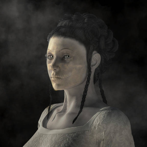 Digital Art - Ghost Woman by Daniel Eskridge