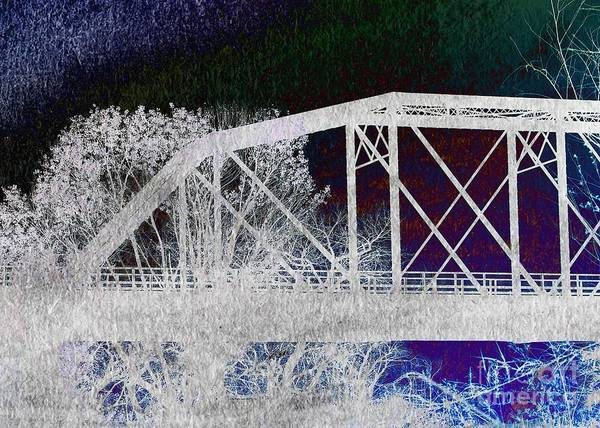 Photograph - Ghostly Bridge by Jenny Revitz Soper