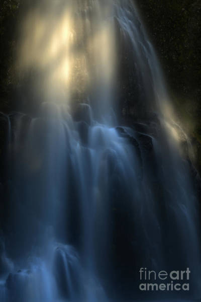 Photograph - Ghostly Falls by Adam Jewell