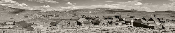 Bodie Photograph - Ghostly Panorama Tobacco by Ricky Barnard