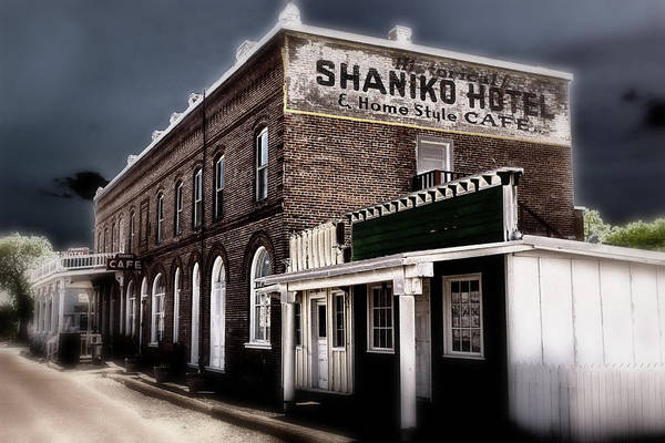 Solarized Photograph - Ghostly Town  by Marnie Patchett
