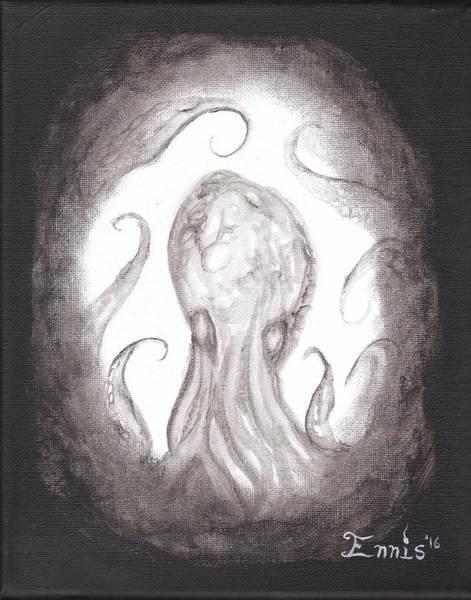 Painting - Ghostopus by Christophe Ennis
