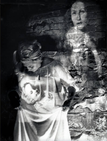 Photograph - Ghosts Colonial 1 by Cora Marshall