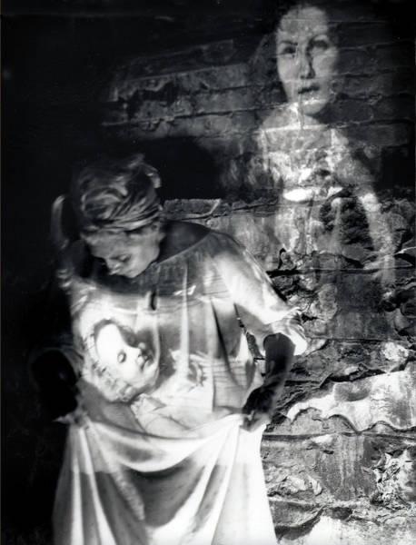 Ghosts Colonial 1 Art Print