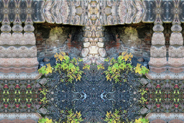 Digital Art - Ghosts In A Chimney In Emerald Valley by Julia L Wright