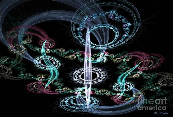 Digital Art - Ghosts In The Machine by Sandra Bauser Digital Art