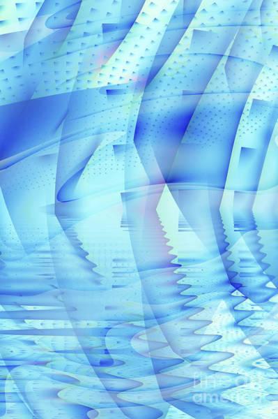Broken Digital Art - Ghosts In The Pool by John Edwards