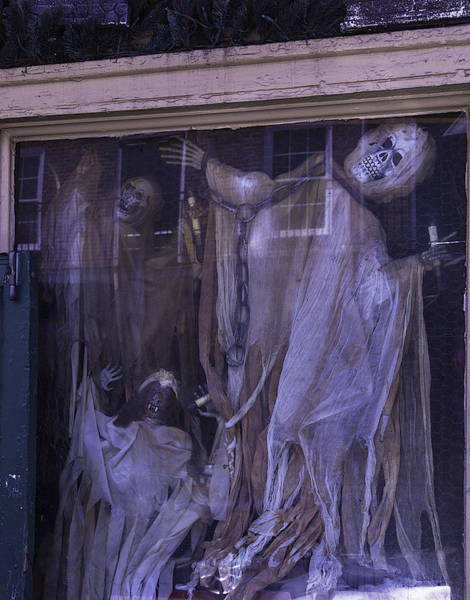 Wall Art - Photograph - Ghosts In Window by Garry Gay