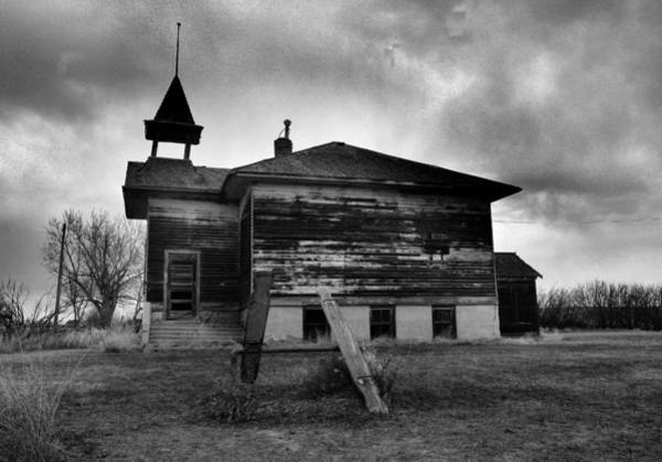 North Dakota Photograph - Ghosts Of Laughter In Corinth North Dakota by Jeff Swan