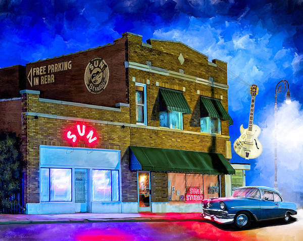 Mixed Media - Ghosts Of Memphis - Sun Studio by Mark Tisdale