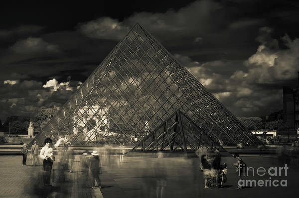 Photograph - Ghosts Of The Louvre by Paul Warburton