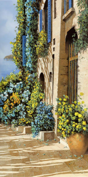 Wall Art - Painting - Gialloblu by Guido Borelli