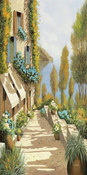 Wall Art - Painting - Gialloblugiallo by Guido Borelli