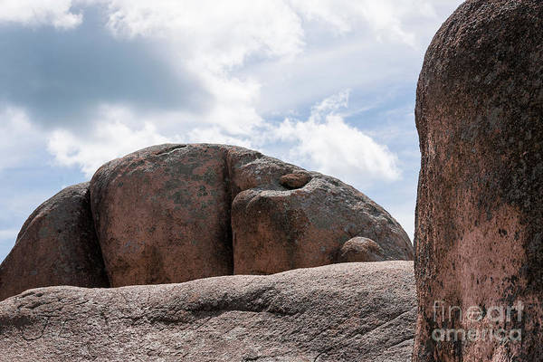 Photograph - Giant Boulders by Andrea Silies