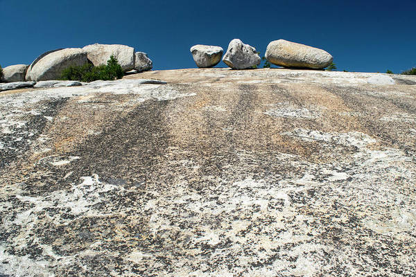 Photograph - Giant Glacial Erratics On Bald Rock by Frank Wilson