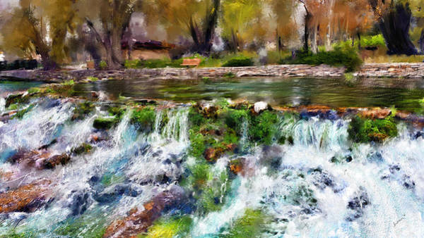 Digital Art - Giant Springs 1 by Susan Kinney