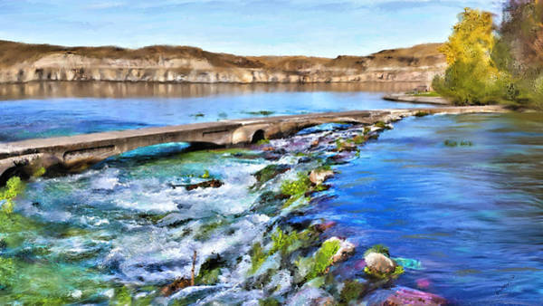 Digital Art - Giant Springs 3 by Susan Kinney