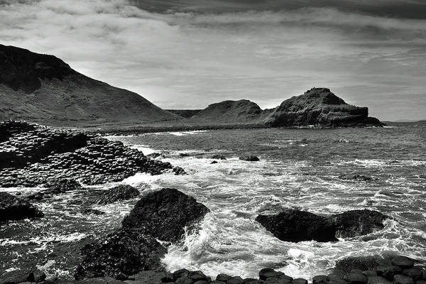Wall Art - Photograph - Giant's Causeway 5 by Terence Davis