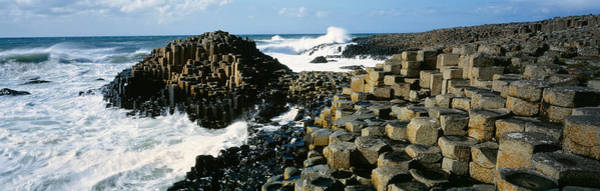 Basalt Photograph - Giants Causeway, Ireland by Panoramic Images