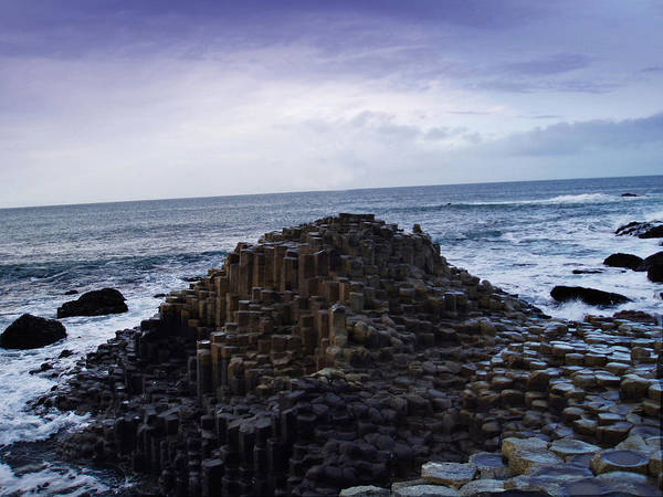 Basalt Columns Photograph - Giant's Causeway by Pelo Blanco Photo