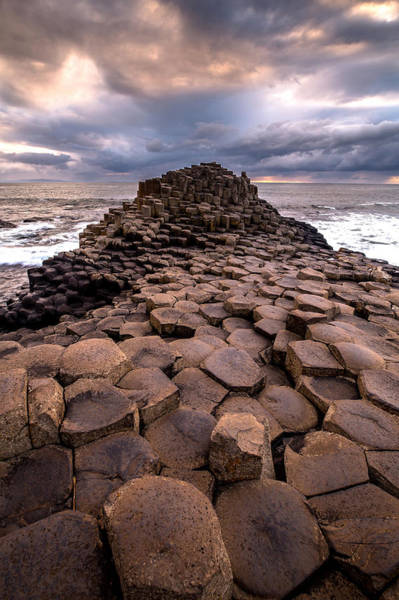 Photograph - Giants Causeway by Ryan Smith