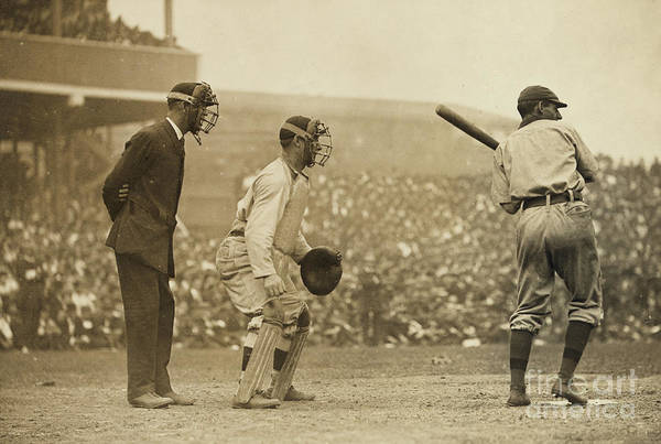 Bat Man Photograph - Giants Versus Pirates by American School