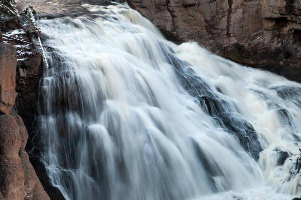 Photograph - Gibbon Falls by Steve Stuller