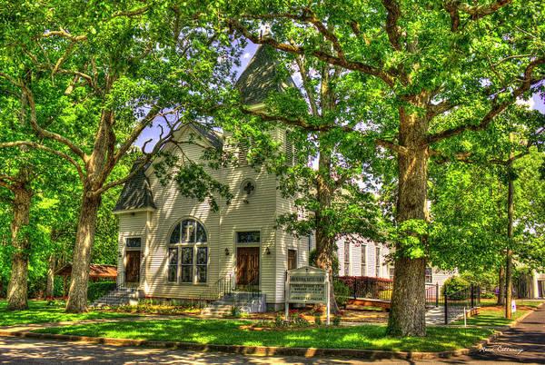 Photograph - Gibbs Memorial Baptist Church Bostwick Georgia Art by Reid Callaway